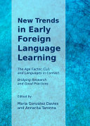 New Trends in Early Foreign Language Learning