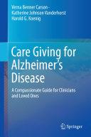 Care Giving for Alzheimer's Disease Pdf/ePub eBook
