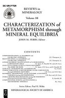 Characterization of Metamorphism Through Mineral Equilibria