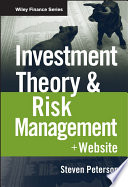 Investment Theory and Risk Management Book