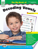 The Big Book Of Decoding Vowels Grades 1 3