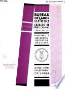 Catalog of Publications