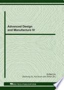 Advanced Design and Manufacture IV Book