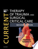 Current Therapy of Trauma and Surgical Critical Care E Book Book