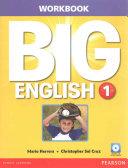 Big English 1 Workbook W Audiocd