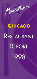 Marcellino's Restaurant Report