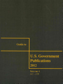 Guide To Us Government Publications