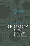 Design Methodology for RF CMOS Phase Locked Loops