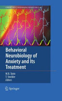 Behavioral Neurobiology of Anxiety and Its Treatment Pdf/ePub eBook
