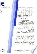 Archiv für Rechts- und Sozialphilosophie