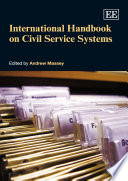 International Handbook on Civil Service Systems