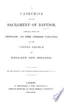 A Catechism of the Sacrament of Baptism