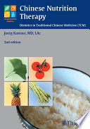 Chinese Nutrition Therapy Book