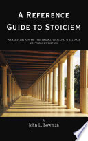 A Reference Guide to Stoicism by John L. Bowman PDF