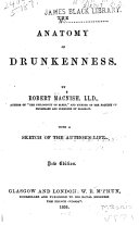 The Anatomy of Drunkenness