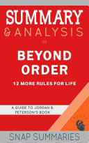 Summary & Analysis of Beyond Order