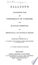 Jugurthine War And Conspiracy Of Catiline