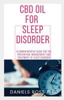 CBD Oil for Sleep Disorder Book