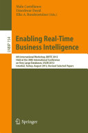 Enabling Real Time Business Intelligence