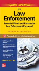 Quick Spanish for Law Enforcement, Premium Second Edition [Pdf/ePub] eBook