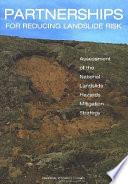 Partnerships For Reducing Landslide Risk