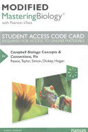 Campbell Biology Modified MasteringBiology With Pearson Etext Access Code Book