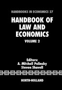 Handbook of Law and Economics Pdf/ePub eBook