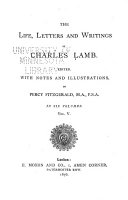 Pdf The Life, Letters and Writings of Charles Lamb