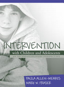 Intervention with Children and Adolescents Book