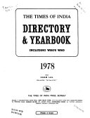 The Times Of India Directory And Year Book Including Who S Who