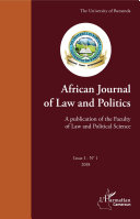 Pdf African Journal of Law and Politics