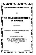 Update of the White Paper Study on the Oil Seeds Situation in Nigeria
