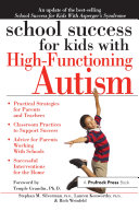 School Success for Kids With High Functioning Autism