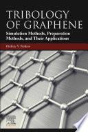 Tribology of Graphene Book