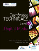 Cambridge Technicals Level 3 Digital Media