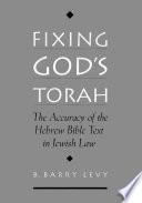 Fixing God's Torah