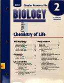 Holt Biology  Chemistry of life