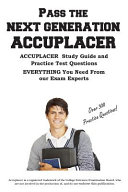 Pass The Next Generation Accuplacer