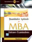Quantitative Aptitude Mba Book PDF