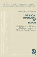 The Social Dimensions of Fiction [Pdf/ePub] eBook