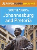Johannesburg and Pretoria  Rough Guides Snapshot South Africa