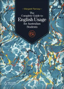 Cover of The Australian Guide to English Usage for Australian Students