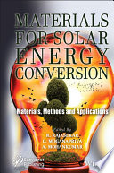 Materials for Solar Energy Conservation