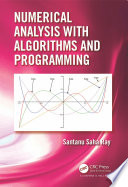 Numerical Analysis With Algorithms And Programming Book PDF