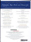 Heritage Americana Grand Format Auction Catalog  629