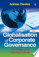 The Globalisation of Corporate Governance Book