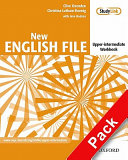 New English File: Upper-Intermediate: Workbook with key and MultiROM Pack