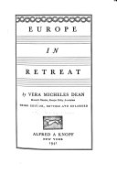 Europe in Retreat