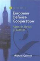 European Defense Cooperation