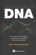 Statistical Physics Of Dna Book PDF